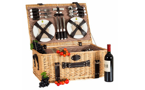 Boutique Picnic Basket For 6
