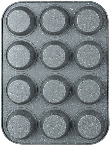 Salter 35cm Carbon Steel 12 Muffin Pan