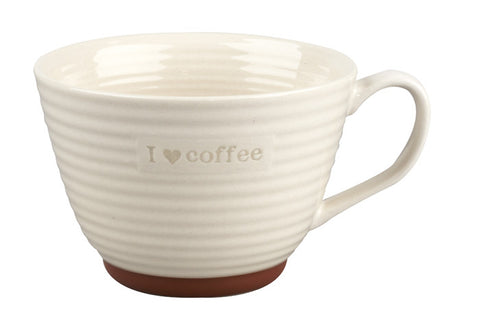 Portobello I Love Coffee Stoneware Mug