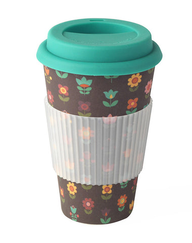 Bamboo Thermal Insulated Retro Travel Mug