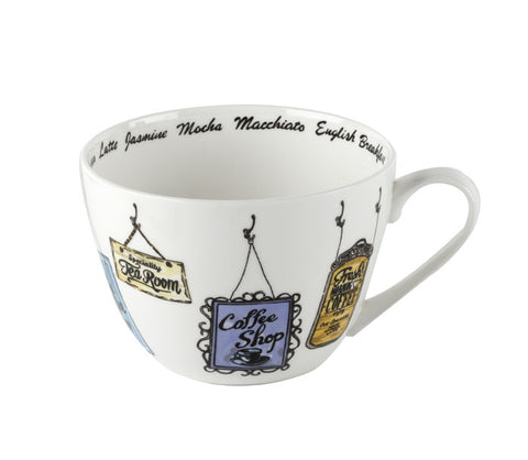 Portobello Drink Up Bone China Mug