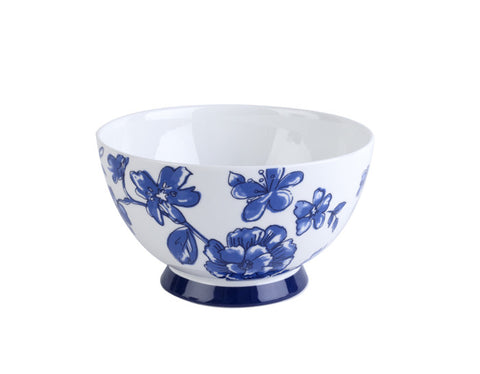 Portobello Perla Bone China Footed Bowl