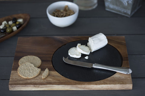 Medium Acacia Antipasti Serving Set