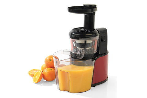 Salter 150W Red Slow Juicer with 2 Litre Juice Capacity