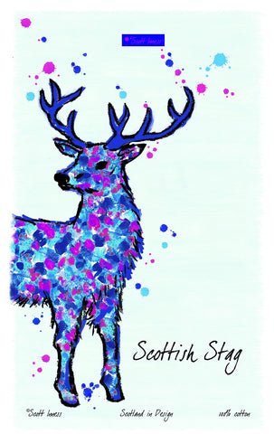 Stag Kitchen Tea Towel