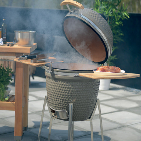 Large Ceramic BBQ in Grey