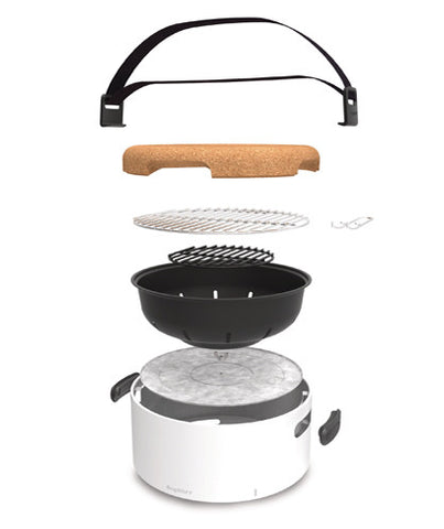 Portable Table BBQ in Black