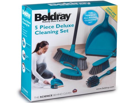 Beldray 5 Piece Multi Purpose Cleaning Set