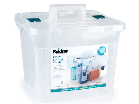 Beldray Kitchen Storage Caddy With Lid