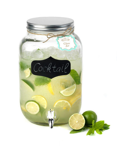 Chalk Board Design Drinks Dispenser 8 Litre