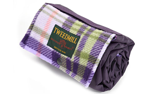 Purple Walker Picnic Fleece