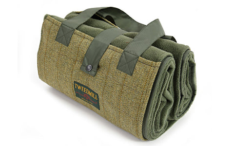 Olive Tweed Family Size Picnic Rug