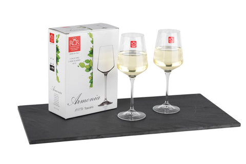 RCR Set Of 2 Wine Glasses 45cl