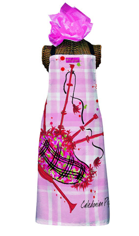 Caledonian Pipes Kitchen Apron