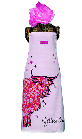Highland Cow Kitchen Apron