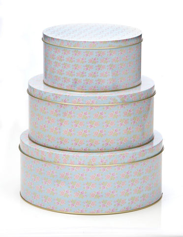 Set of 3 Cupcake Design Cake Tins