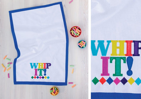 Whip It Kitchen Tea Towel