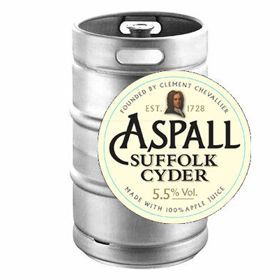Aspall Keg from BJ Supplies | Cash & Carry Wholesale