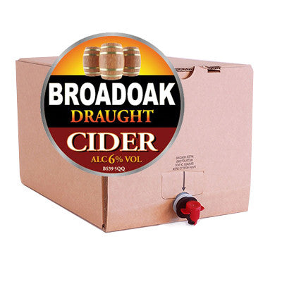 Broadoak Draught Cider from BJ Supplies | Cash & Carry Wholesale - BJ Supplies | Cash & Carry Wholesale