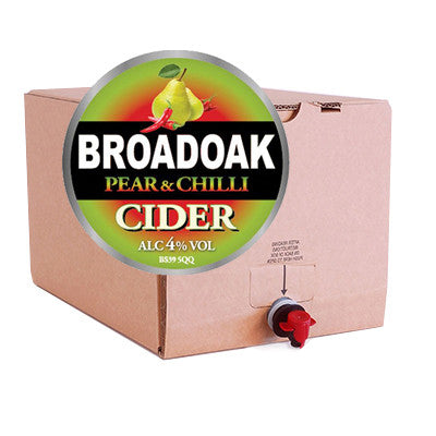 Broadoak Pear & Chilli Cider from BJ Supplies | Cash & Carry Wholesale - BJ Supplies | Cash & Carry Wholesale