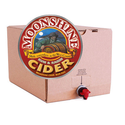 Broadoak Moonshine Rum & Raisin Cider from BJ Supplies | Cash & Carry Wholesale - BJ Supplies | Cash & Carry Wholesale