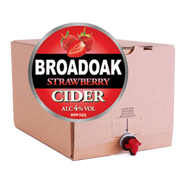Broadoak Strawberry Cider from BJ Supplies | Cash & Carry Wholesale - BJ Supplies | Cash & Carry Wholesale