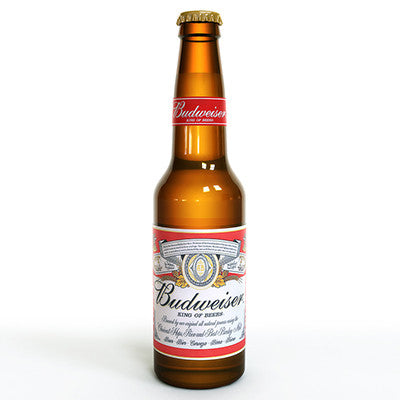 Budweiser Bottles from BJ Supplies | Cash & Carry Wholesale