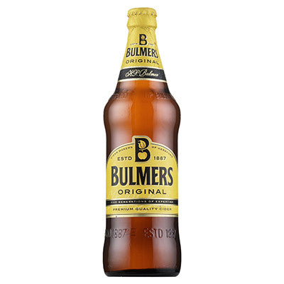 Bulmers Original Bottles from BJ Supplies | Cash & Carry Wholesale