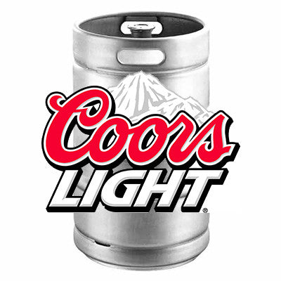 Coors Light Keg from BJ Supplies | Cash & Carry Wholesale