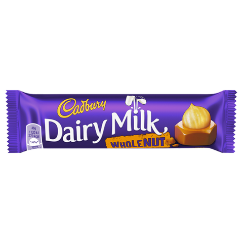 Cadbury's Whole Nut from BJ Supplies | Cash & Carry Wholesale