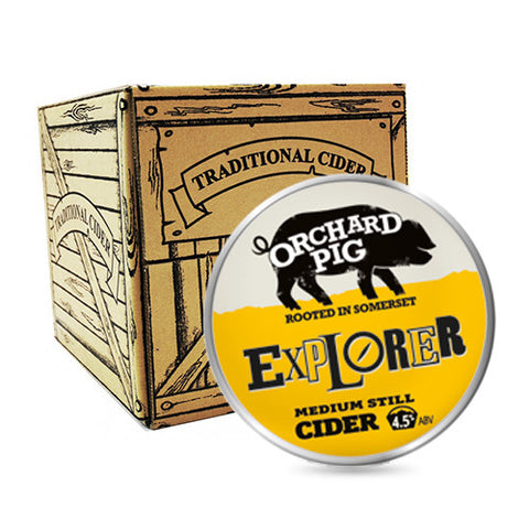 Orchard Pig Explorer Cider from BJ Supplies | Cash & Carry Wholesale