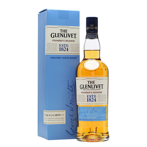 Glenlivet Founders Reserve Whiskey from BJ Supplies | Cash & Carry Wholesale