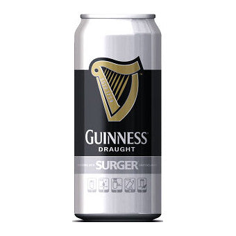 Guinness Surger Cans from BJ Supplies | Cash & Carry Wholesale