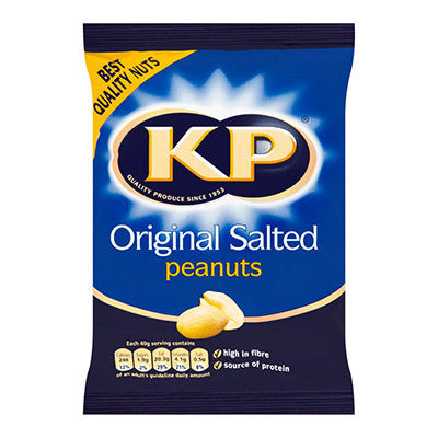 KP Salted Nuts from BJ Supplies | Cash & Carry Wholesale