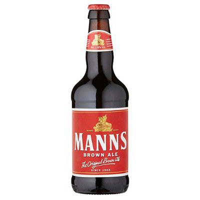 Manns Brown Bottles from BJ Supplies | Cash & Carry Wholesale