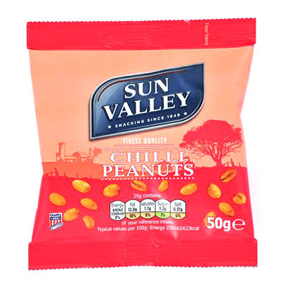 Sun Valley Chilli/Honey Roast Nuts from BJ Supplies | Cash & Carry Wholesale
