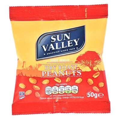Sun Valley Dry Roasted Nuts from BJ Supplies | Cash & Carry Wholesale
