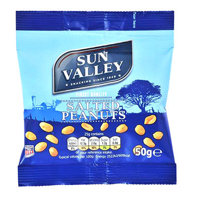 Sun Valley Salted Nuts from BJ Supplies | Cash & Carry Wholesale