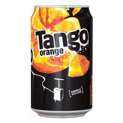 Tango Orange Cans from BJ Supplies | Cash & Carry Wholesale