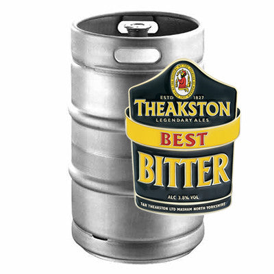 Theakston's Best Keg from BJ Supplies | Cash & Carry Wholesale