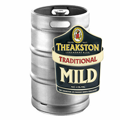 Theakston's Mild Keg from BJ Supplies | Cash & Carry Wholesale