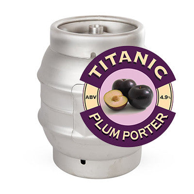 Titanic Plum Porter from BJ Supplies | Cash & Carry Wholesale