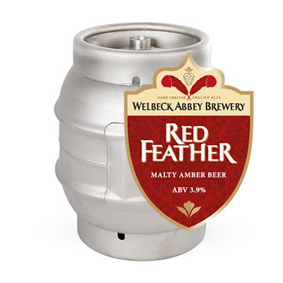 Welbeck Abbey Red Feather from BJ Supplies | Cash & Carry Wholesale