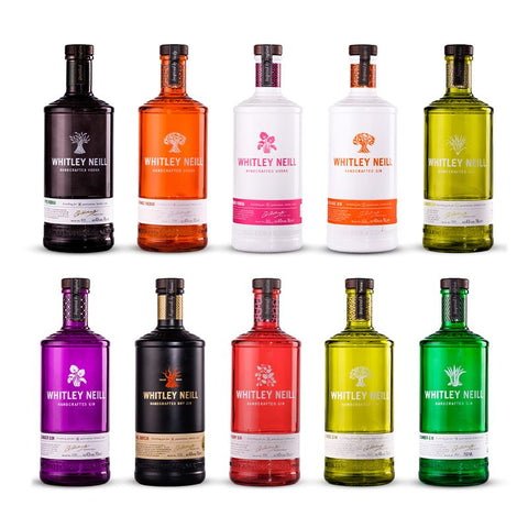 Whitney Neill Gins 70cl (Various)