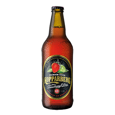Kopparberg Strawberry & Lime Bottles from BJ Supplies | Cash & Carry Wholesale