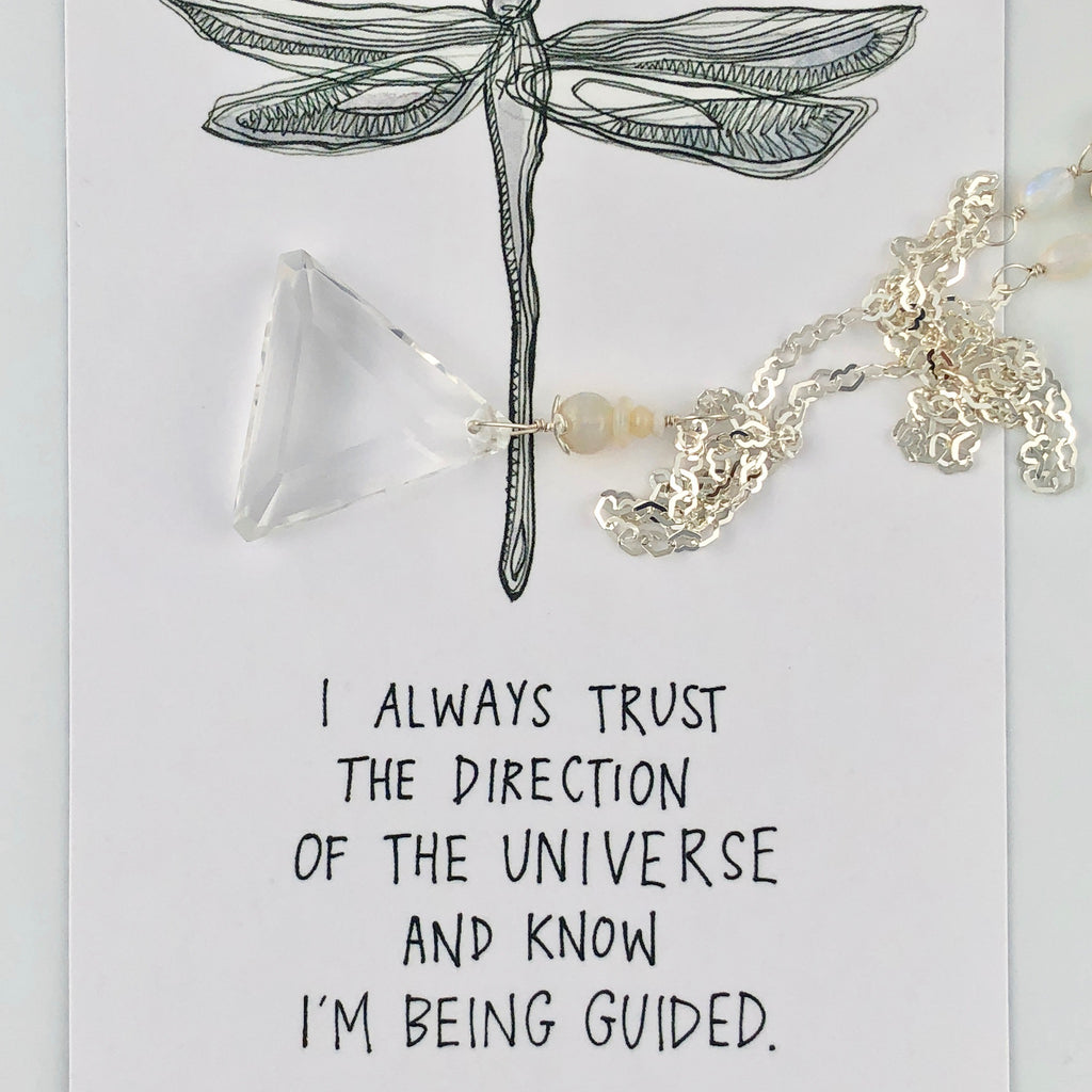 Let Trust of the Universe be you Guide