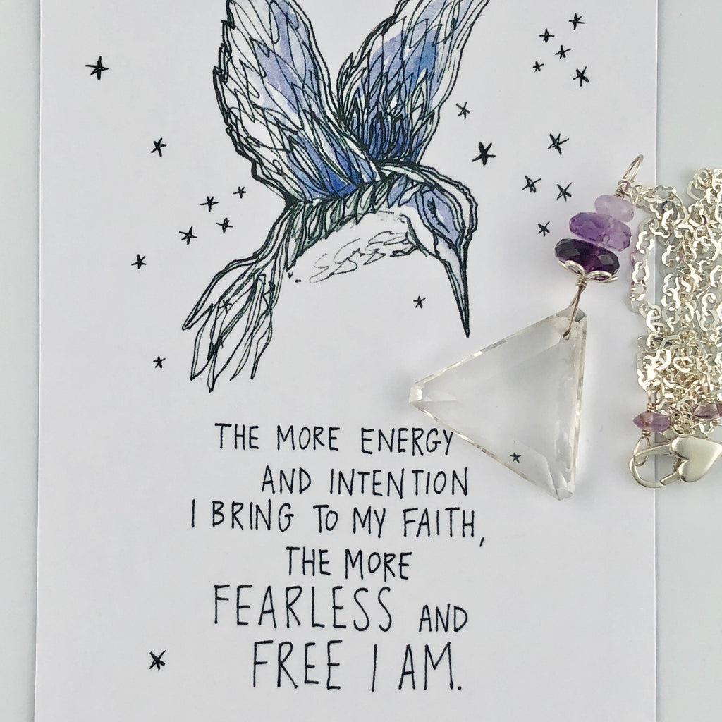 Have Faith in Yourself and Be Free