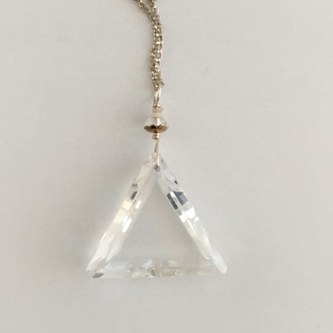 John of God Crystal Blessed & Embellished (Quartz) Necklace