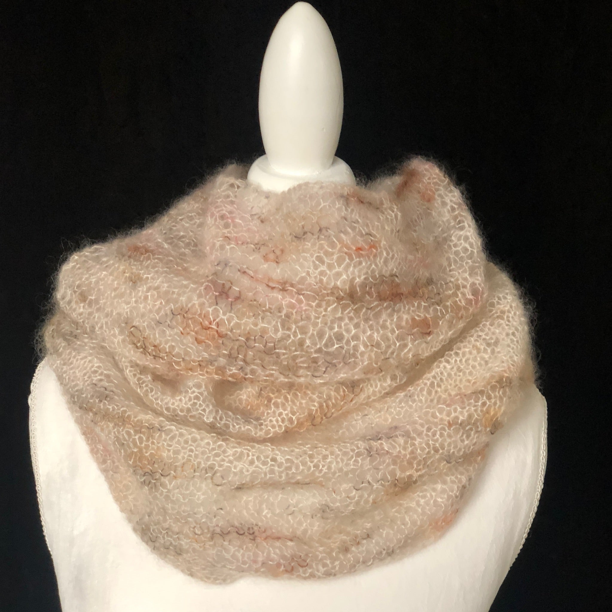 Julia Knit Cowl Beige