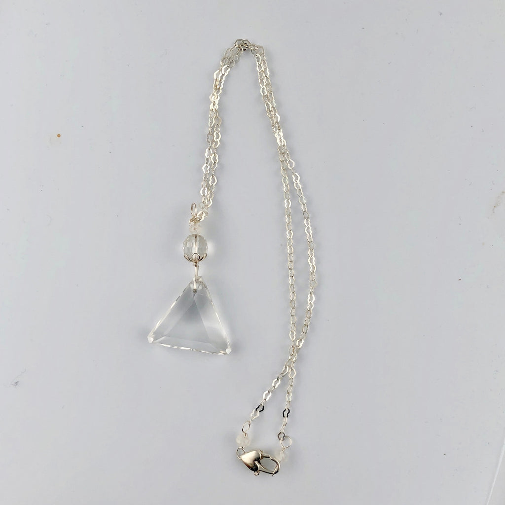 John of God Crystal Blessed & Embellished (Faceted Quartz & Spectrolite) Necklace